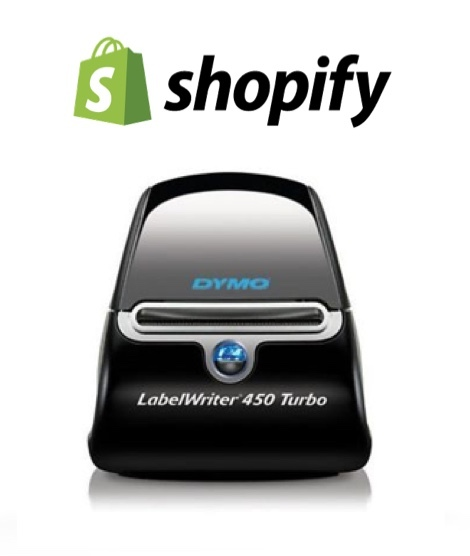Shopify Compatible Label Printing Shipping Label Barcode