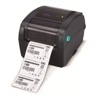 "TSC TC200 4"" Thermal Transfer Barcode Label Printer Ethernet USB 99-059A003-4004"