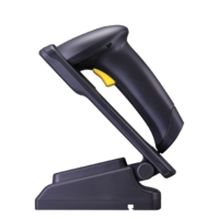 Cipherlab 1504P USB Corded Barcode Scanner Kit With Stand (2D) A1504P2BKU001
