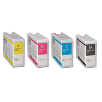 Epson C6500/C6000 COLORWORKS Ink Cartridge YELLOW MAGENTA CYAN BLACK