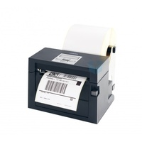 Citizen CLS400 Direct Thermal Label Printer with roll holder (Black, Ethernet & USB) CLS400DTR