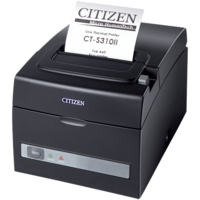 CITIZEN S-310II 3inch Thermal Printer with Ethernet and USB interface CTS310IIUEBL