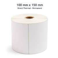 Shipping Label Roll 100mm x 150mm (400 labels per roll, Permanent Adhesive)