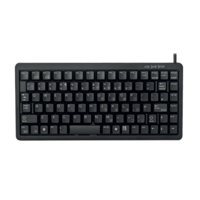CHERRY G84-4100 Compact 83 Key Keyboard Black USB PS2 G84-4100LCAUS-2