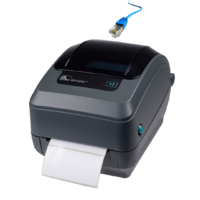 Zebra GK420T 4 inch Thermal Transfer Label Printer (Ethernet & USB)