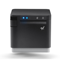 MCPrint3 Bluetooth & USB & Ethernet Receipt Printer - Black, Star Micronics, MCP31LB