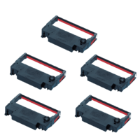 2 x Black and Red Ribbons for the Bixolon SRP275 SRP270 Impact Printers GRC-201BR