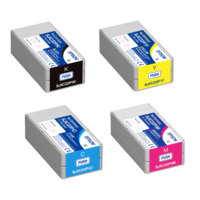 Epson TM- C3500 Ink Cartridge YELLOW MAGENTA CYAN BLACK